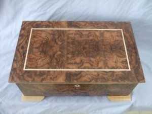 Jewellery Box Top View
